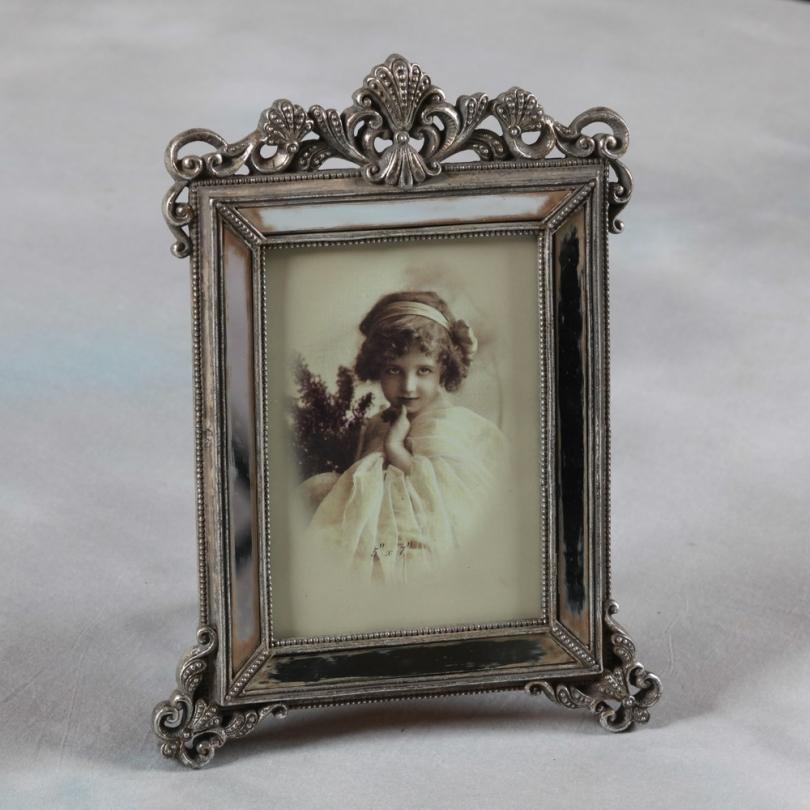 bilderrahmen mit spiegel in antik optik gro e moinat sa antiquit s d coration