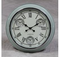 """Reloj de pared de luz Azul y """"Londres"""""""