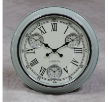 "Wall clock light Blue and ""London"" to"