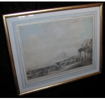 "Print ""View of Geneva"", by BRUN Le CADET."
