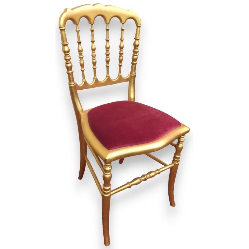 Chair Napoleon III Style Gilt