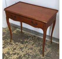 Table style Louis XV en merisier à 1