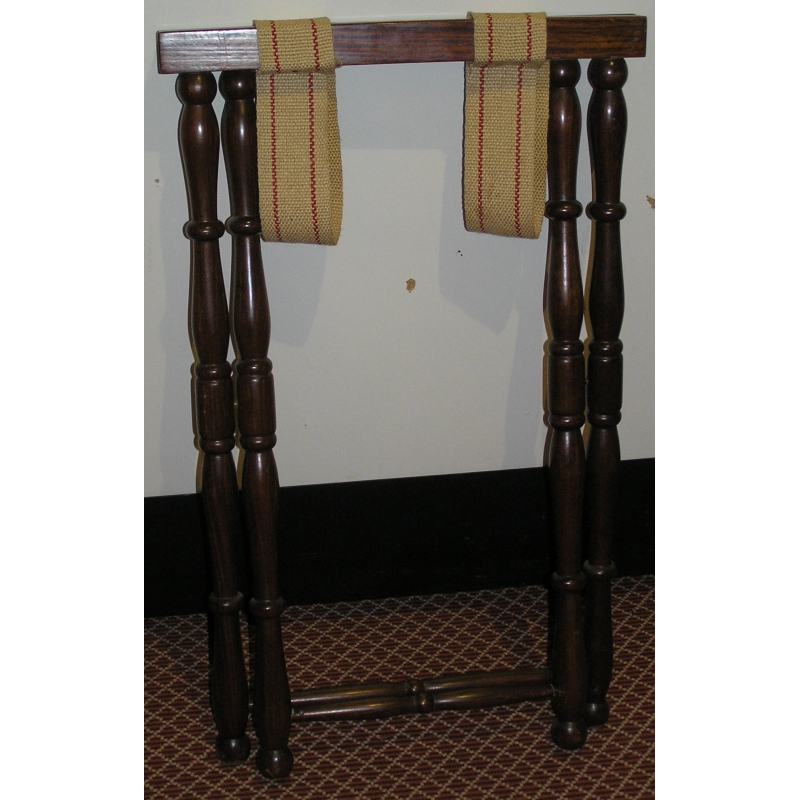 porte valise pliable en acajou sur moinat sa. Black Bedroom Furniture Sets. Home Design Ideas