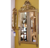 Miroir Louis XVI sculpté.