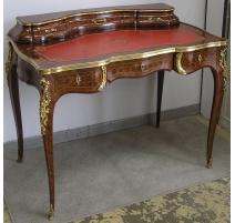Bureau Louis XV dessus à gradin, en