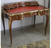 Schreibtisch Louis XV über gradin,