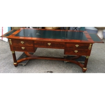 Desk Empire style 5-drawer, top
