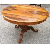 Pedestal Table Louis Philippe