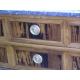 Commode Directoire, en bois marqueté.