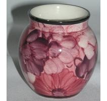 Vase de Nyon peint à la main, en