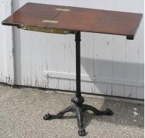Журнальный столик, из красного дерева. С ноги