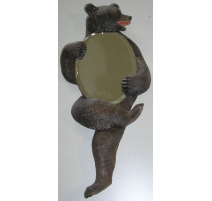 "Sculpture miroir ""Ours de Brienz"", en"