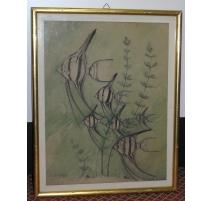 """Zeichnung """"skalare"""" von SANDOZ"""