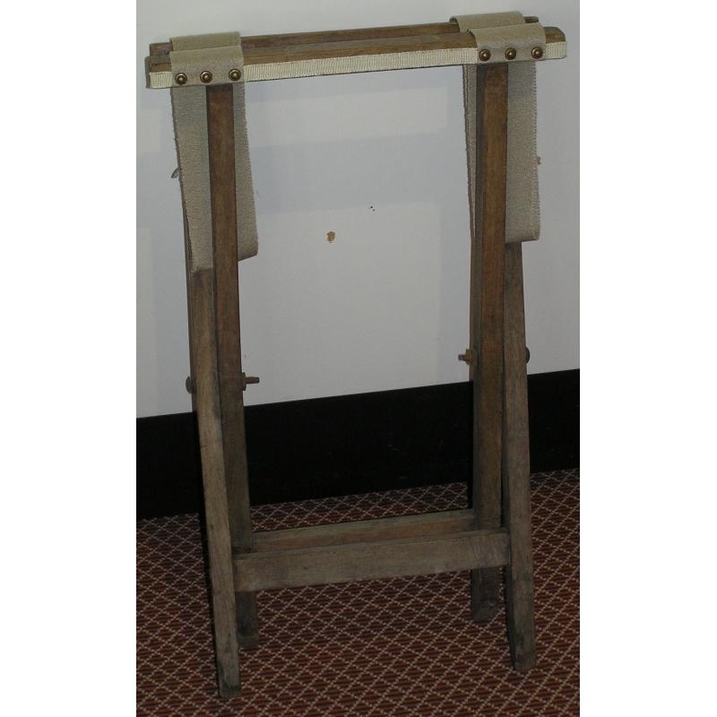 porte valise pliable lani res sur moinat sa antiquit s. Black Bedroom Furniture Sets. Home Design Ideas