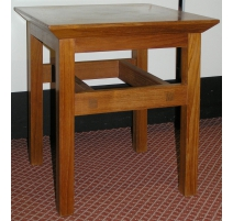 Квадратный стол, тика. Ниссен