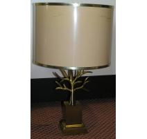 Lampe de style Charles avec décor