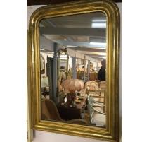 Miroir Louis-Philippe au mercure, cadre