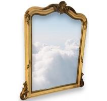 Espejo de Napoleón III, en madera lacada