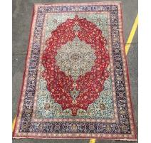 Teppich Keshan mit zentralen medaillon