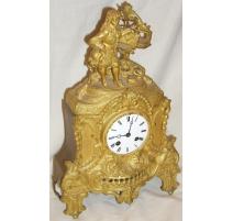 "Louis-Philippe ormolu clock ""Writer""."