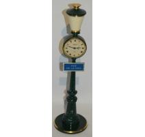 """Clock street Lamp """"STREET OF PEACE"""""""