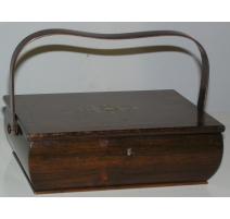 Небольшой шкаф из палисандрового дерева с
