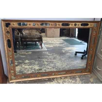 Miroir Néo-classique rectangulaire à