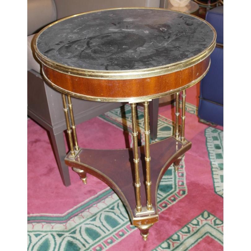 Table bouillotte - guéridon Directoire,