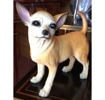 Chihuahua en résine