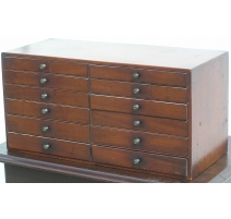 Cabinet watchmaker with 12 drawers,