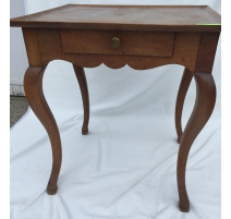 Стол Louis XV, с 1 ящиком, орех.