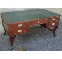 Bureau, in mahogany. With 5 drawers.