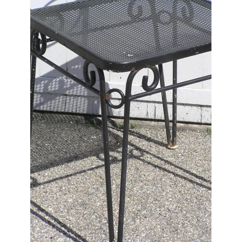 chaise d 39 ext rieur en fer forg sur moinat sa antiquit s d coration. Black Bedroom Furniture Sets. Home Design Ideas