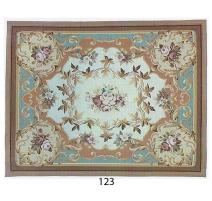 奥布松地毯设计123白色背景