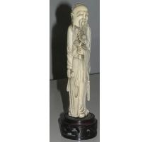"""Sculpture """"Sage à la marguerite"""", en"""