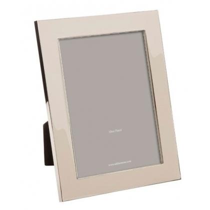 Marco de la foto de esmaltado gris, arena, grandes