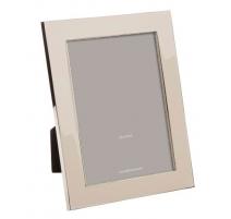 Cadre photo émaillé gris sable, grand