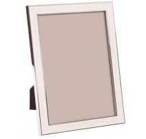 Cadre photo émaillé blanc, grand