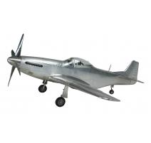 Modèle d'avion Mustang en aluminium