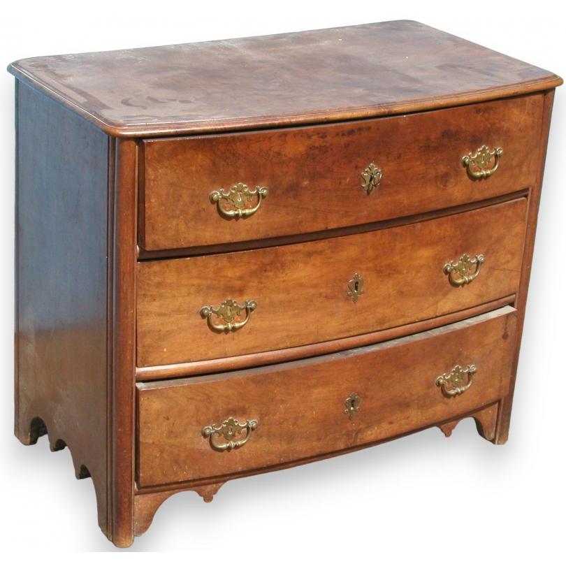 Commode louis xiv 3 tiroirs dessus bois sur moinat sa - Table basse louis xiv ...