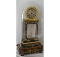 Charles X inlaid clock and thermometer, COLLIN.