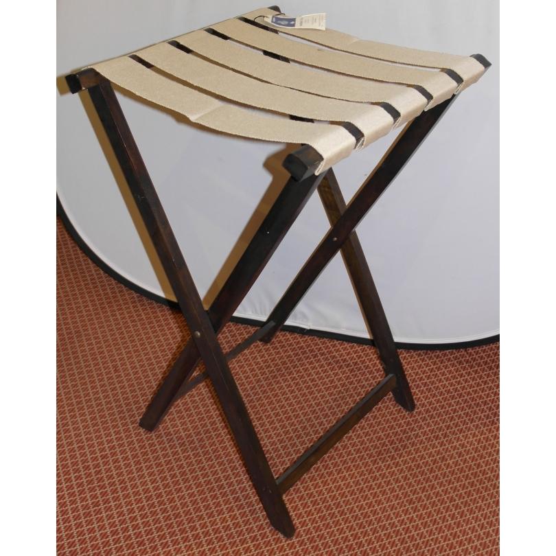 porte valise en acajou avec lani res en chanvre sur moinat sa antiquit s d coration. Black Bedroom Furniture Sets. Home Design Ideas
