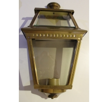 "Lantern applies the ""Place des Vosges 2"" brass"