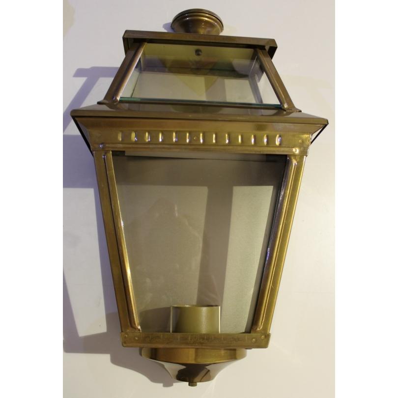 """Lanterne applique """"Place des Vosges 2"""" en laiton"""