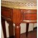 Table bouillotte Louis XVI en acajou
