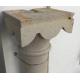 Paire de colonnes en pierre taillée