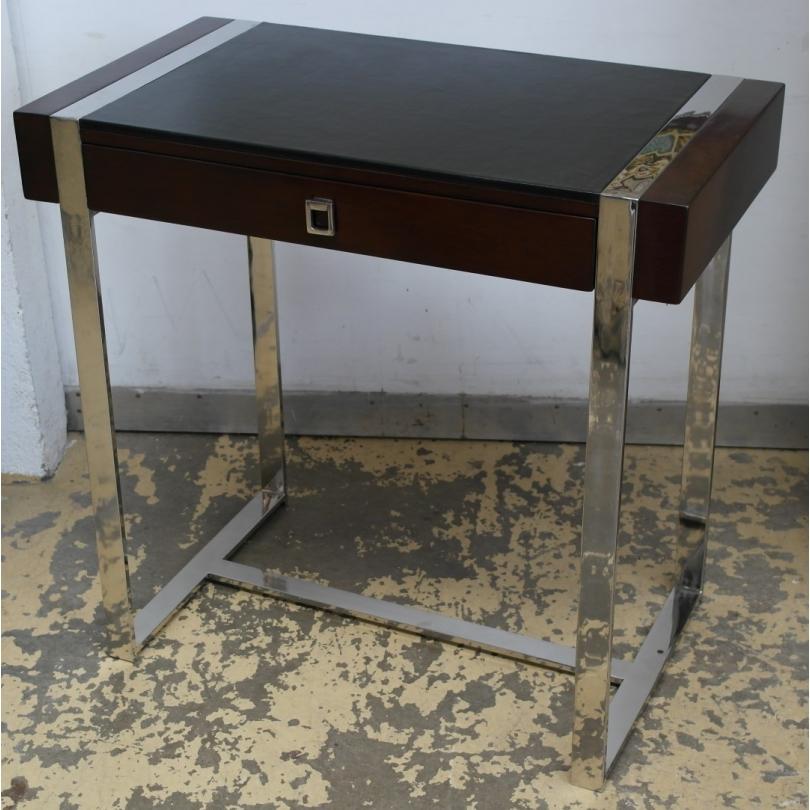 petit bureau oslo bois et fer dessus sur moinat sa antiquit s d coration. Black Bedroom Furniture Sets. Home Design Ideas