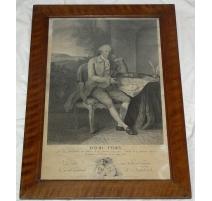 "Engraving ""David de PURRY"" by GIRARDET"