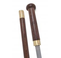 Canne-épée en bois de santal