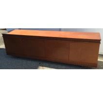 Sideboard mit 4 türen, füße verchromt
